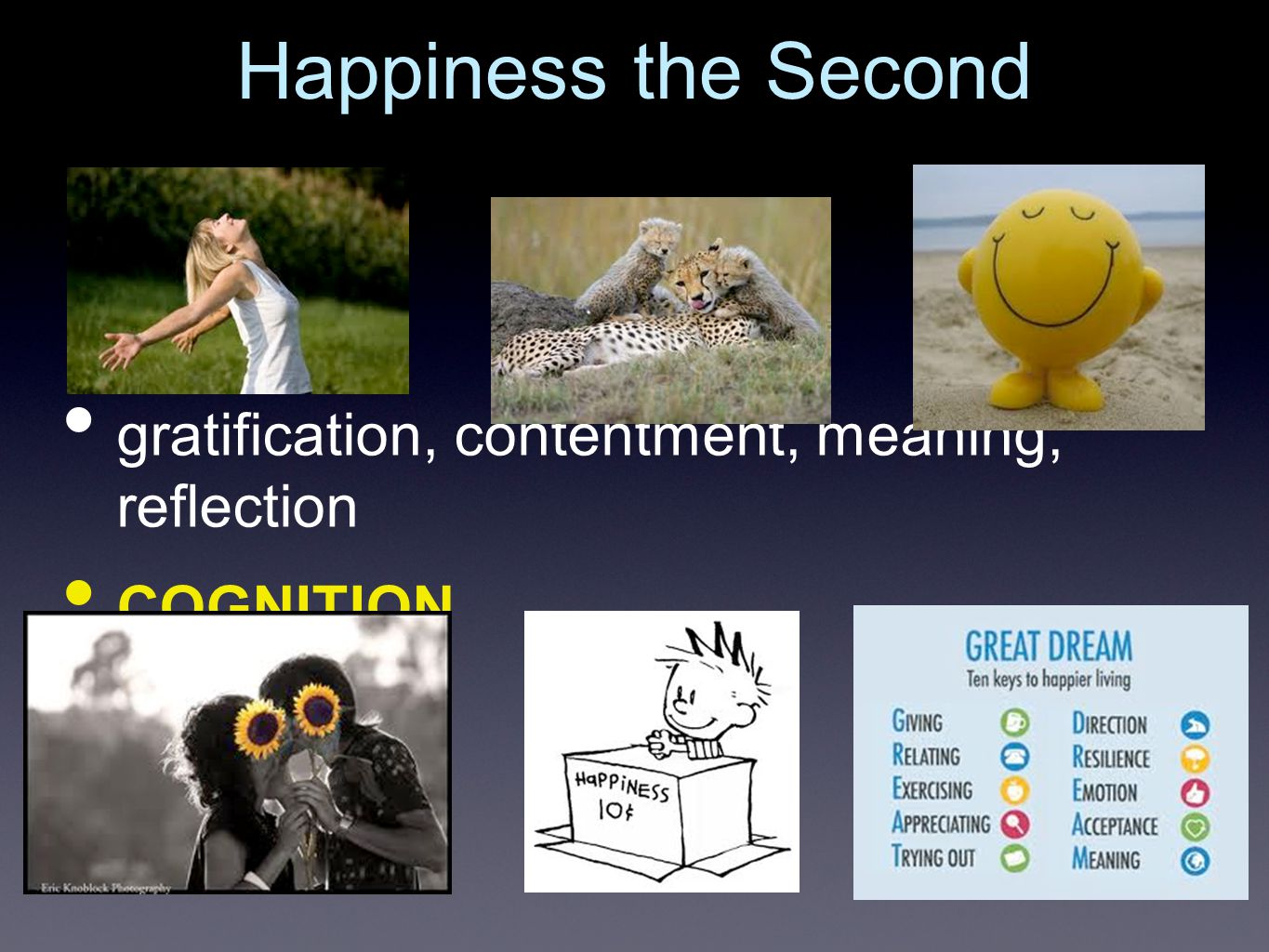 fulfilment and meaning momentary rewards Time Happiness is (1) how you feel and (2) how you interpret that in the greater context of your life