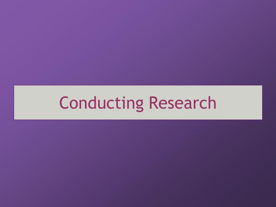 the five step process Developmental Theory 1.Ask a (developmental) research question.