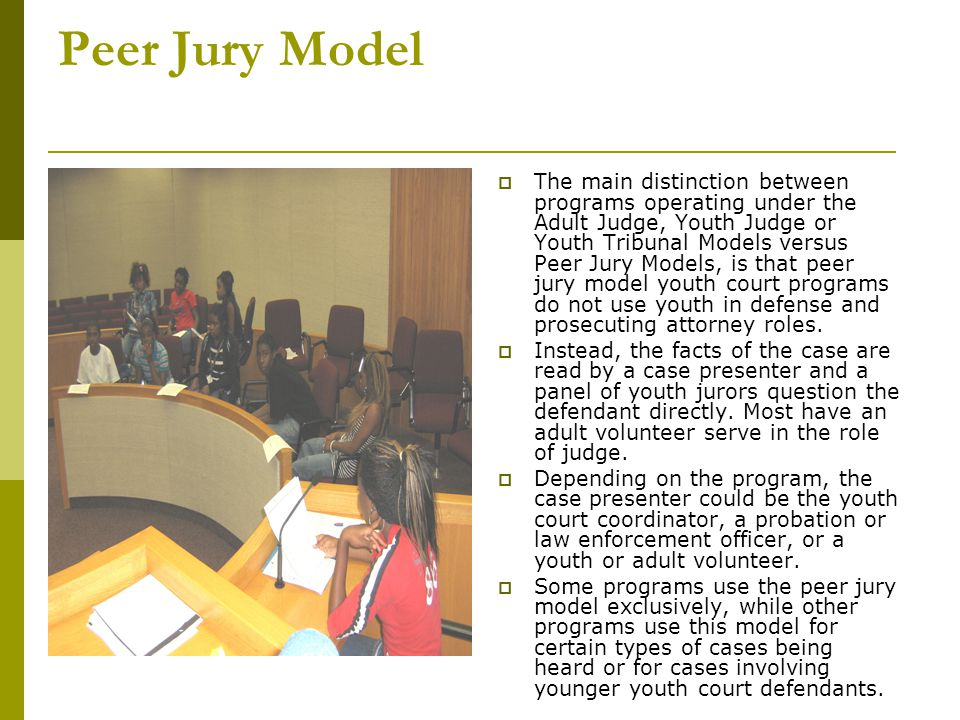 Success Story  The Positive effects of Youth Court expand miles, but each case brings a smile to our face.