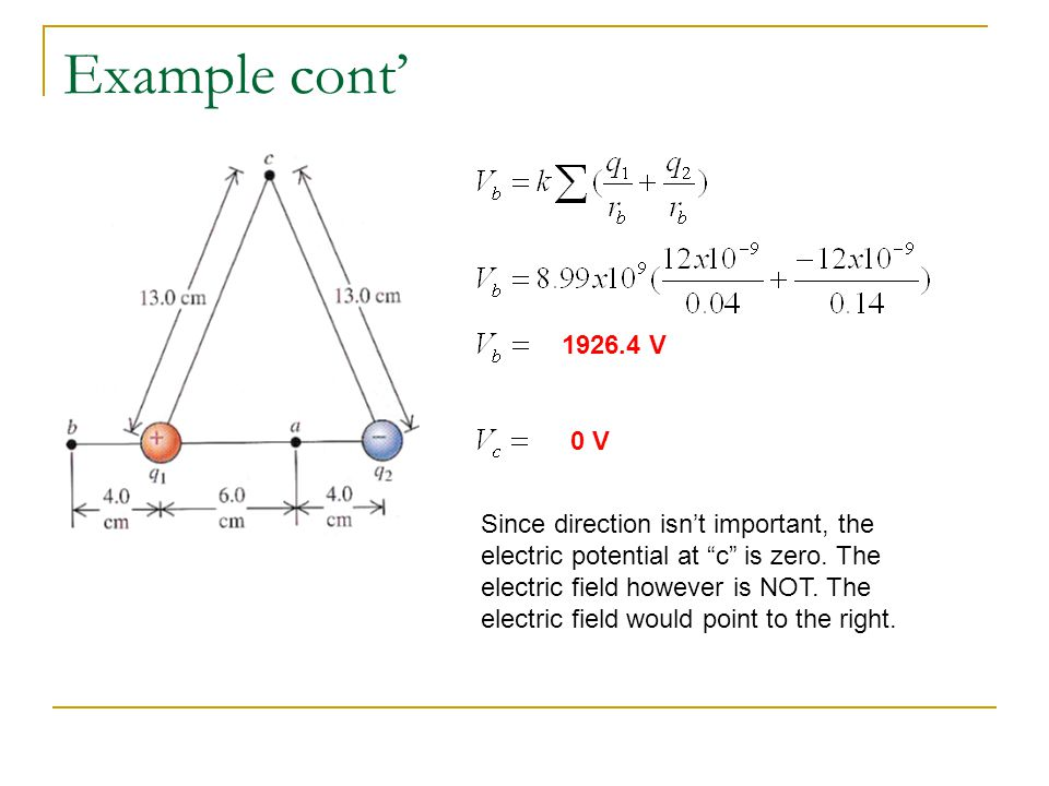 Electric Potentials and Gauss' Law Suppose you had a charged conducting sphere.
