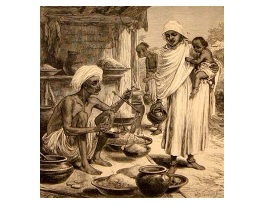 Features of Famine in late Nineteenth Century India 1.