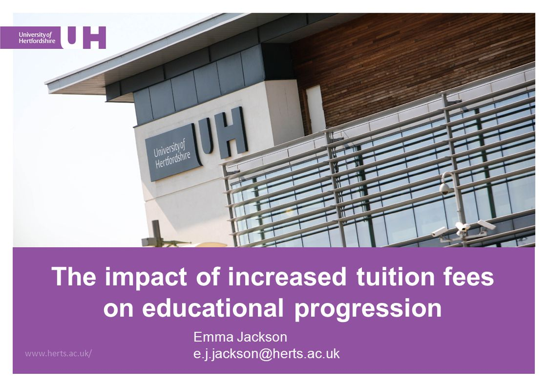 Overview Background to the increase in tuition fees.