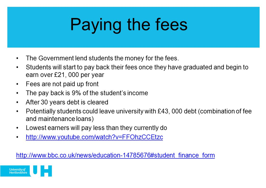 Conclusion Tuition fees can potential impact on educational decisions.