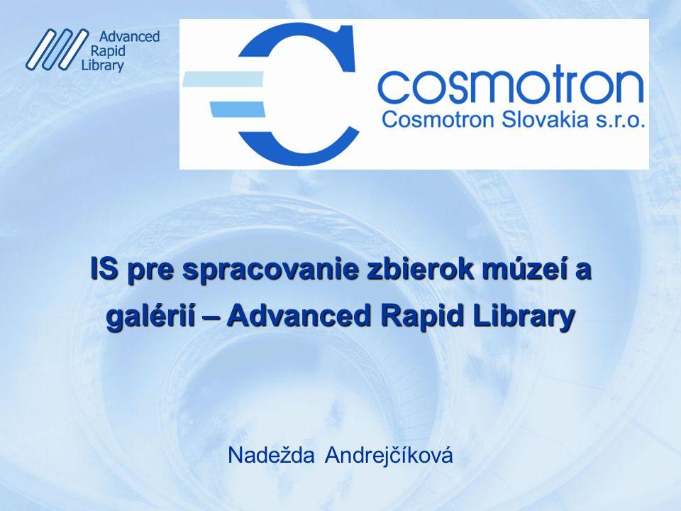 O čom budem hovoriť  Poslanie, používatelia, zbierky a zbierkové predmety  Rôznorodosť, komplexnosť, interoperabilita  Relevancia, informácia, poznatok, používateľ  IS pre múzeá, galérie, archívy a knižnice