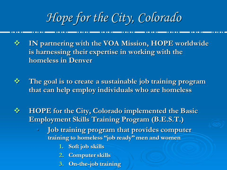 Hope for the City, Colorado Bentley Systems is a software company providing tools for the creation and management of infrastructure in Building, Civil, Geospatial and Plant Engineering design, document and data Bentley Systems is a software company providing tools for the creation and management of infrastructure in Building, Civil, Geospatial and Plant Engineering design, document and data For the B.E.S.T.