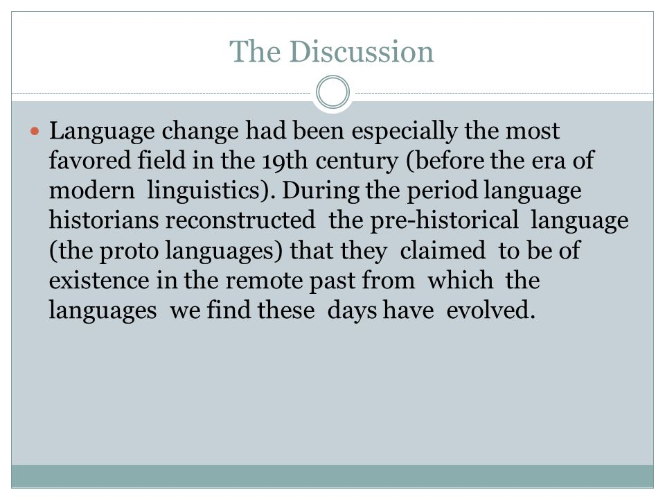 How do language changes spread.
