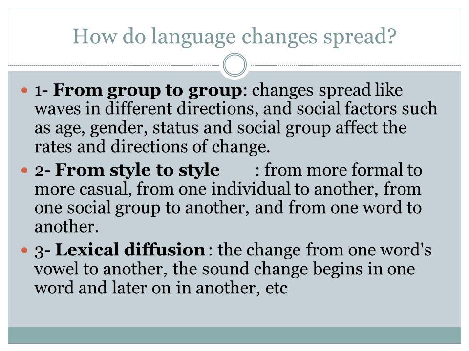 How do we study language change.1.