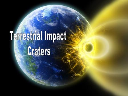 Impact craters are geologic structures formed when a large meteoroid, asteroid or comet smashes into a planet or a satellite.Impact craters are geologic.