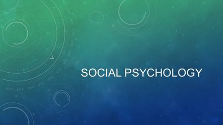 SOCIAL PSYCHOLOGY. FUNDAMENTA ATTRIBUTION ERROR Def: the tendency to overemphasize personal factors and underestimate situational factors when making.