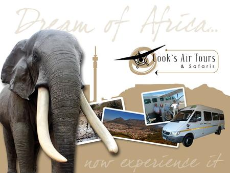 WHO WE ARE South African based tour company. We specialize in personalized private air charter fly-In safaris, for medium and large groups. 1976 saw the.