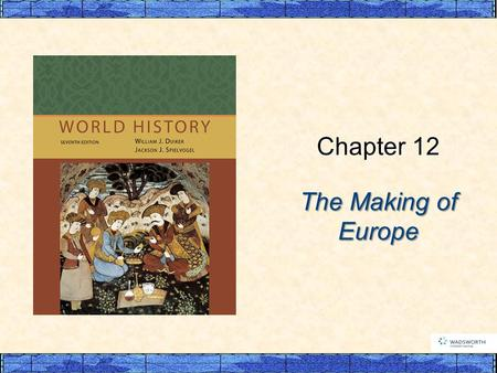 The Making of Europe Chapter 12. p327 I. The Emergence of Europe in the Early Middle Ages  A. The New Germanic Kingdoms  1. The Kingdom of the Franks.
