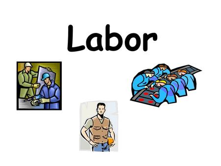 Labor. The workers, or employees, of a company Management.