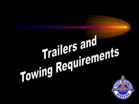 Trailers Trailer shall mean any vehicle, with or without motive power, designed for carrying persons or property and for being drawn by a motor vehicle.