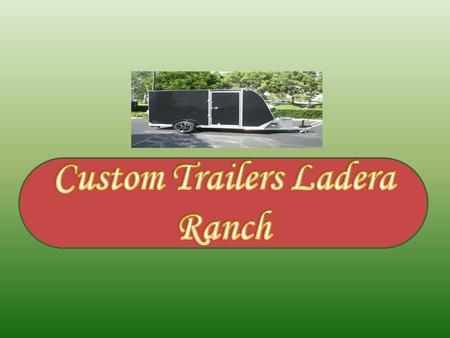 Piazza's Custom Trailers specializes in helping customers with specific needs or special requests find the trailer that is right for them. Piazza's Custom.