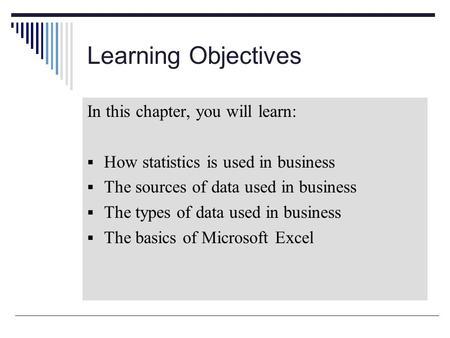 Business Statistics - Study.com | Take Online Courses ...