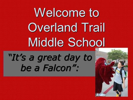 Welcome to Overland Trail Middle School