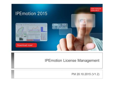 IPEmotion License Management PM 20.10.2015 (V1.2).