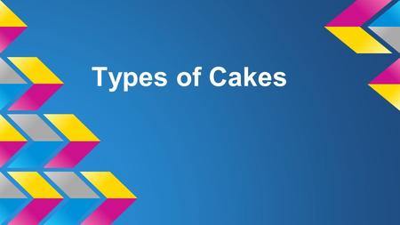 Types of Cakes. Comparing and Evaluating What information is similar to what you already know? What new information did you learn? What questions do you.