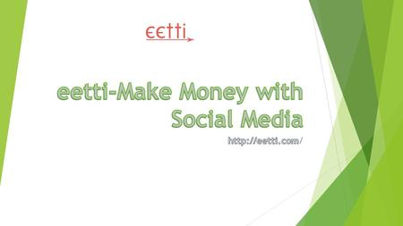 eetti - For business companies Our marketing platform has handpicked marketers to promote any brands.It isapplicable to any domains such as movies, political.