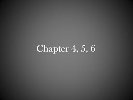 Chapter 4, 5, 6. Chapter 4: Microscopy, Staining, and Classification.