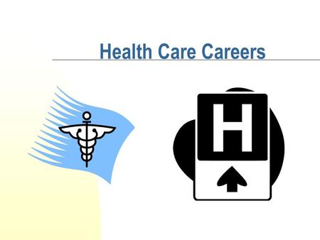 Health Care Careers 2 4 Health Care Careers Clusters DIAGNOSTIC/THERAPEUTIC SERVICES BIOTECHNOLOGY RESEARCH AND DEVELOPMENT HEALTH INFORMATICS SUPPORT.