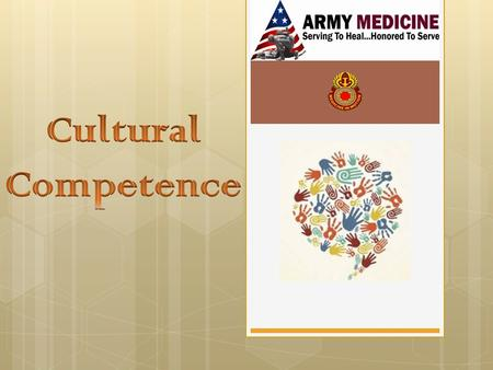 Pre-Introduction Activity How culturally competent are you? How culturally diverse is the medical facility? Are you able to effectively treat culturally.