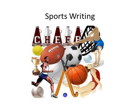 Sports Writing. Sports Writing vs. News Writing Both use similar types of leads: feature (indirect) or summary lead. Both look for the most interest-compelling.