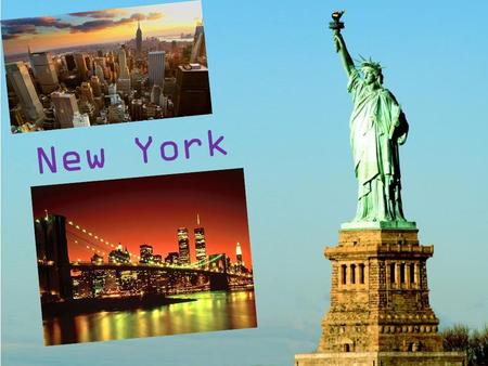 Page 1 New York. Page 2 New York is a state in the Northeastern region of the United States. New York is the 27th-most extensive, the third-most populous,