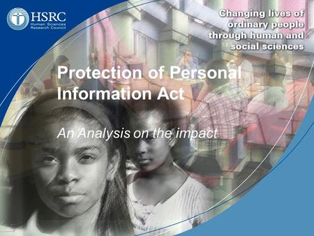 Protection of Personal Information Act An Analysis on the impact.