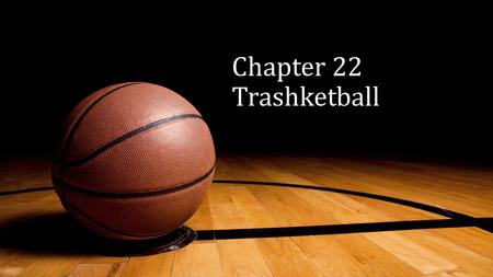 Chapter 22 Trashketball. What form of transportation enabled the spread of the population to a new suburban environment?