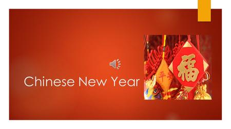 Chinese New Year The history of Chinese New Year.  Chinese New year is an important Chinese festival that is also known as the Spring Festival. Chinese.