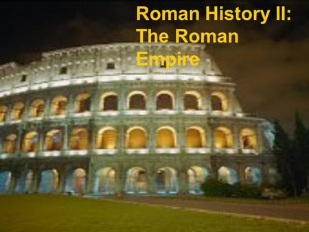 an overview of the julius caesar in the history of roman empire The story of julius caesar's rise to power in the 50s and 40s bc, first  once he  had returned to rome with his fiercely loyal army, caesar's.