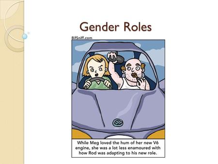 Gender Roles. Sex Vs. Gender Sex: either the male or female division of a species; with reference to the reproductive functions. -Concerns physical and.