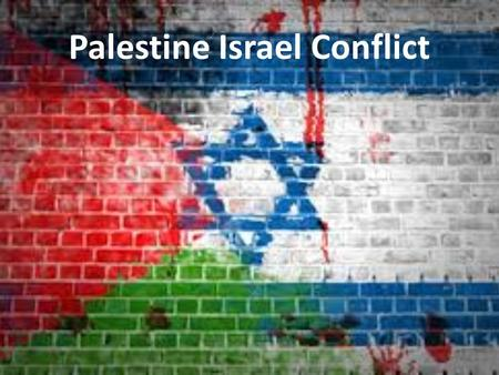 "Palestine Israel Conflict. Mandatory Palestine Balfour Declaration 1917, ""His Majesty's government view with favour the establishment in Palestine of."