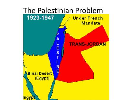 The Palestinian Problem. In AD 72 the Roman Government forced the Hebrews, (the Jews), out of Israel. – This was done in reaction to their defiance.