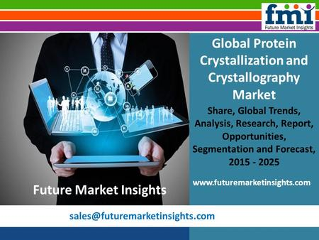 Global Protein Crystallization and Crystallography Market Share, Global Trends, Analysis, Research, Report, Opportunities,