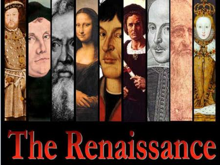 "The Renaissance. Contributions of the Renaissance WHAT? ""Rebirth"" of classical knowledge & ""birth"" of modern world WHEN? 1350-1600 A.D. WHERE? Italian."