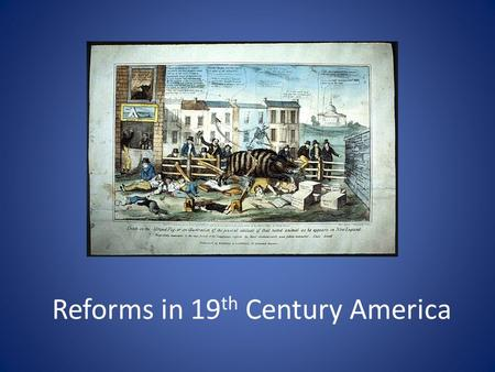 Reforms in 19 th Century America. The Second Great Awakening 1.Was a broad religious movement that swept the US after 1790. 2.The preachers of this period.