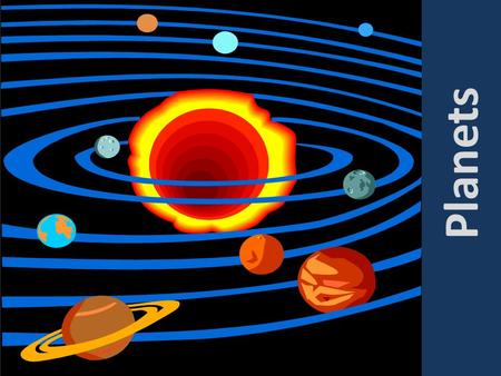 Planets. The Planets Mercury My Venus Very Earth Eager Mars Mother Jupiter Just Saturn Served Uranus Us Neptune Nine Pluto* Pizzas * Pluto is no longer.