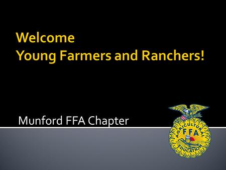 Munford FFA Chapter.  Growing plants without soil  Greatly saves on time and space  Easily harvestable  Variety of plants.