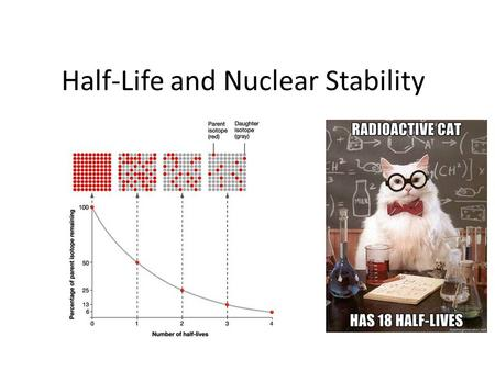 Half-Life and Nuclear Stability. How many isotopes are stable? So far, 118 different elements have been isolated. Only 92 of these are naturally occurring;
