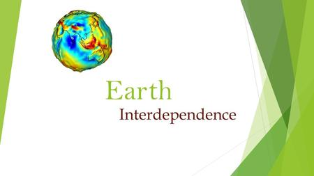 Earth Interdependence. What internal energy source is responsible for the convection currents in the earth's asthenosphere?