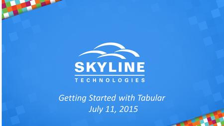 Getting Started with Tabular July 11, 2015. Phillip Labry  Sr. BI Engineer  IT development for over 25 years  Developer, DBA, Business Intelligence.