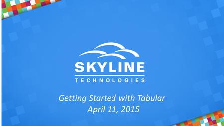 Getting Started with Tabular April 11, 2015. Phillip Labry  Sr. BI Engineer  IT development for over 25 years  Developer, DBA, Business Intelligence.