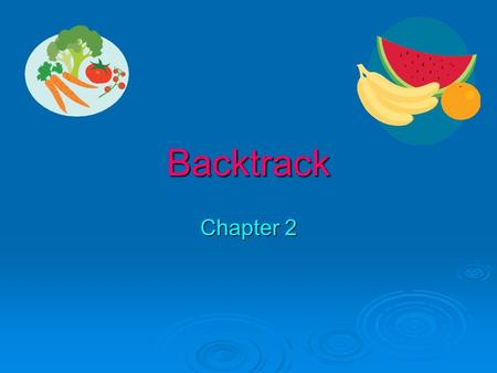Backtrack Chapter 2.