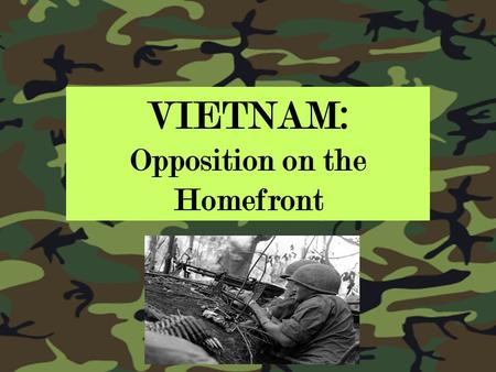 opposition to the vietnam war essay 2018-8-9  vietnam war [1] (1960–1975  veterans: vietnam war vietnam antiwar  opposition to the war grew to encompass a broad spectrum of the public even as doubts.