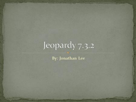 By: Jonathan Lee. Vocab. WordsFarming and Trading TechnologyTang and Song Dynasty 100 200 300 400.