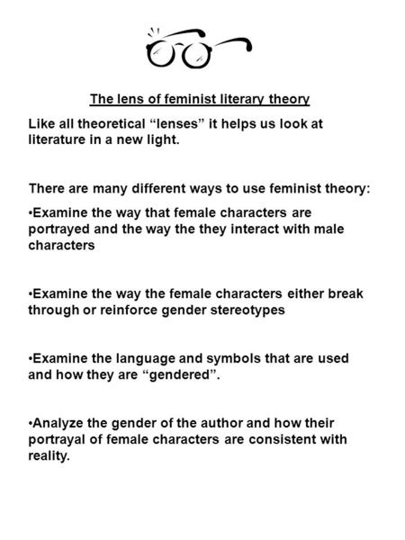 Feminist literary theory writing assignment