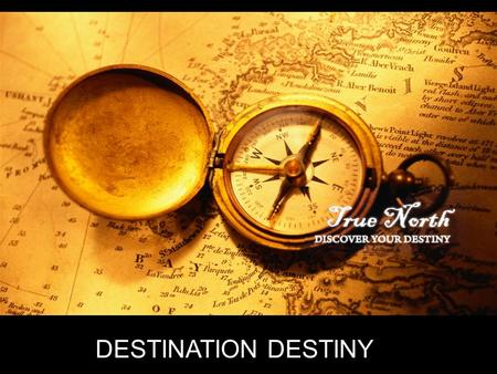 DESTINATION DESTINY. 'For David, after he had served the purpose of God in his own generation, died' Acts 13:36a (New Revised Standard Version)