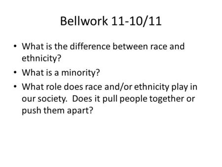 the role of race in our society We also experience class very differently depending on our race, gender and  ethnic  how much of a role does inherited privilege play in our society  humorist.